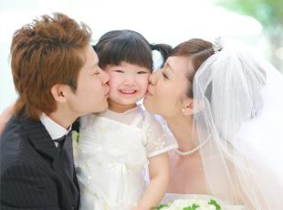 写真だけの結婚式のイメージ